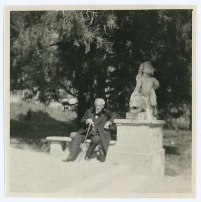 Georg Brandes ved Villa d'Este i Cernobbio