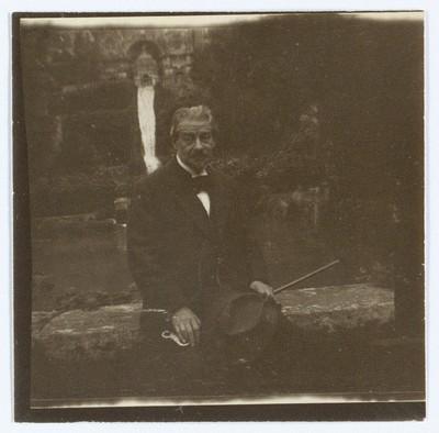 Georg Brandes ved Villa d'Este