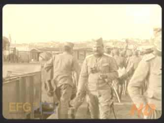 Dolazak 4. konjičkog puka u Beograd i doček na železničkoj stanici