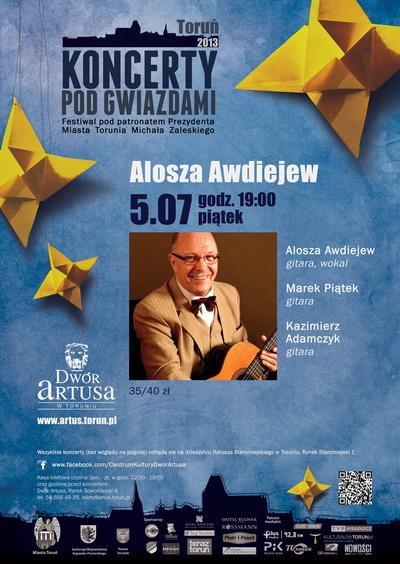Koncerty pod Gwiazdami : Alosza Awdiejew : 5.07