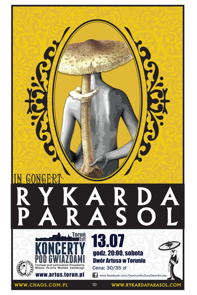 Koncerty pod Gwiazdami : Rykarda Parasol : 13.07