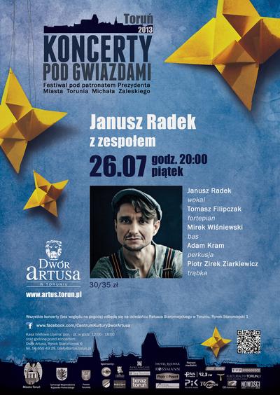 Koncerty pod Gwiazdami : Janusz Radek : 26.07