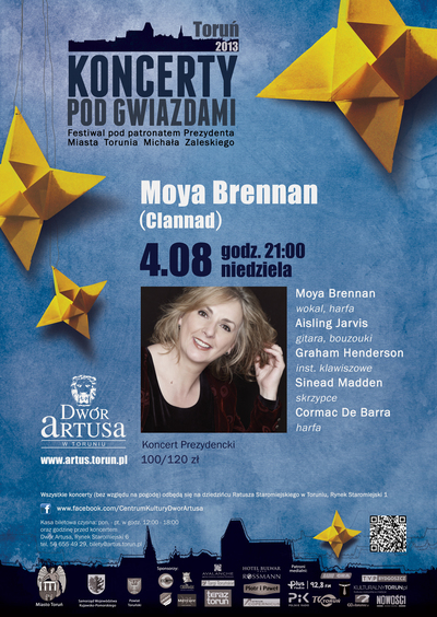 Koncerty pod Gwiazdami : Moya Brennan (Clannad) : 4.08