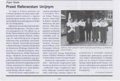 Przed Referendum Unijnym