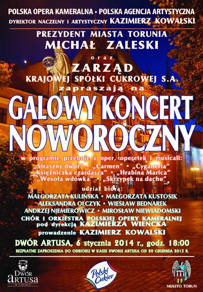 Galowy koncert noworoczny : 6 stycznia 2014