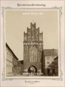 Neubrandenburg, Treptower Tor (Innenseite)