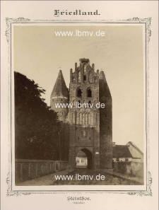 Friedland, Steintor (Außenseite)