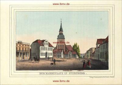 Sternberg, Marktplatz