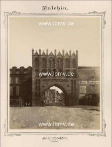 Malchin, Kalensches Tor (Außenseite)