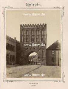 Malchin, Steintor (Außenseite)