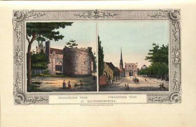 Neubrandenburg, Friedländer Tor, Stargarder Tor
