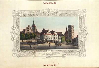 Rostock, Altstadt vom Beginenberg