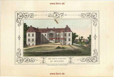 Neustadt-Glewe, Neues Schloss