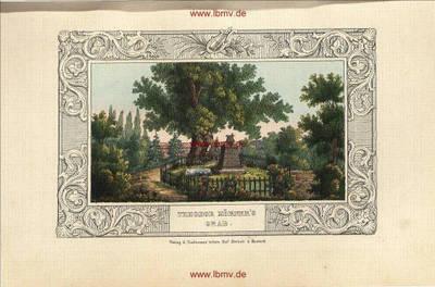 Wöbbelin, Theodor Körners Grab