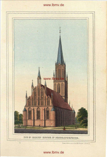 Neubrandenburg, Marienkirche