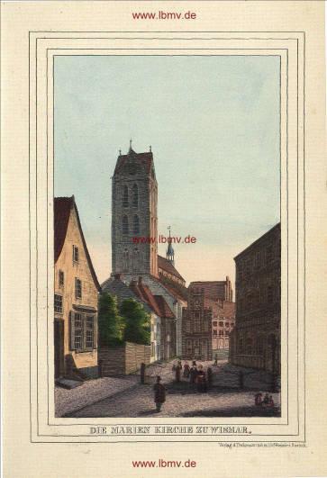 Wismar, Marienkirche