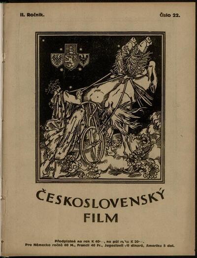 Československý film 22/1920