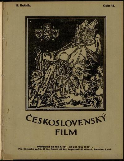 Československý film 18/1920