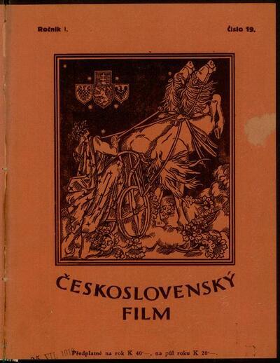 Československý film 19/1919