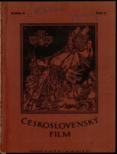Československý film 3/1920