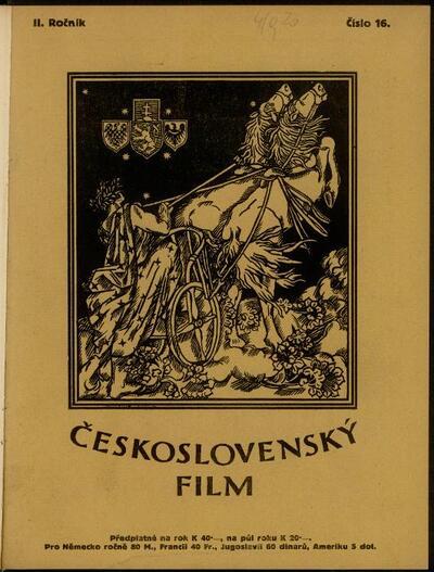 Československý film 16/1920