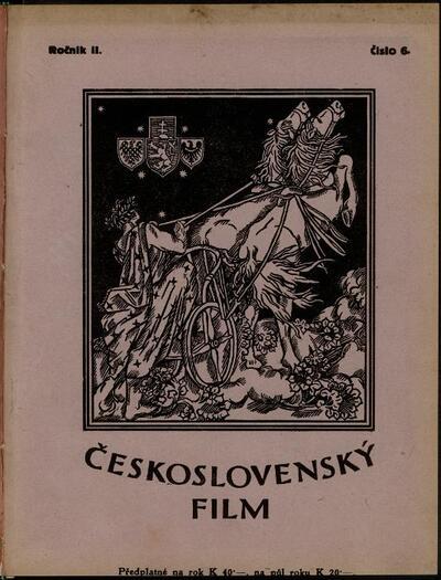 Československý film 6/1920