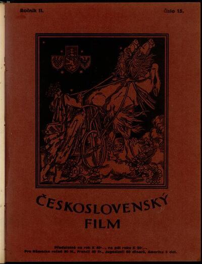 Československý film 15/1920