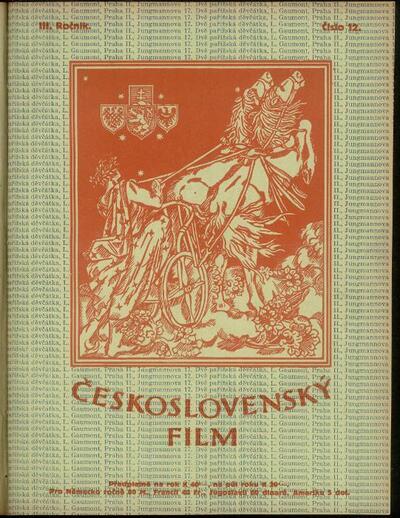 Československý film 12/1921