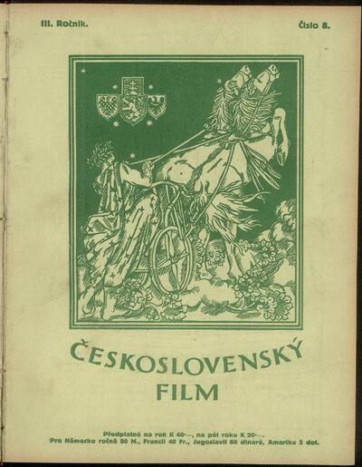 Československý film 8/1921