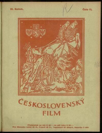 Československý film 11/1921