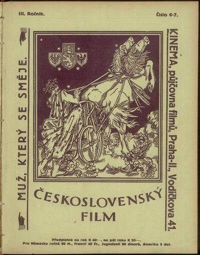 Československý film 6-7/1921