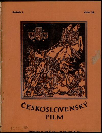 Československý film 29/1919