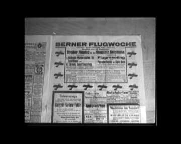 Bilder vom BERNER FLUGMEETING 1935