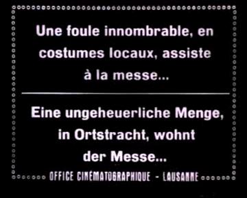 Ciné Journal Suisse [Teil 1, diverse Themen]