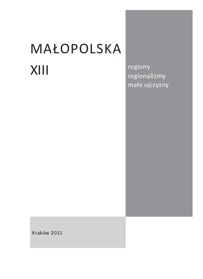 Małopolska. T. 13 (2011)