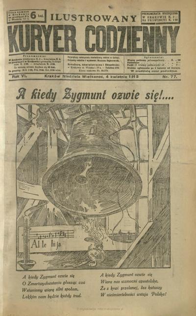 Ilustrowany Kuryer Codzienny. 1915, nr 77 (4 IV)