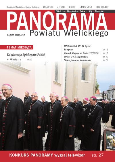 Panorama Powiatu Wielickiego. 2013, nr 7 (lipiec) = nr 245