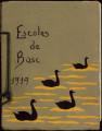Escola del Bosc de Montjuïc. Treball de l'alumna Dolors Arqués (2 quaderns)