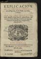 Explicacion de la doctrina christiana y obligacion de los fieles en creer y obrar / por ... Fray Juan de Santo Thoma ...