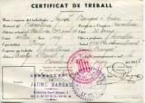 Certificat de treball