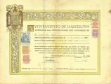 Manel Cama Llach - Diploma Matarife de ganado lanar
