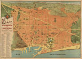 Plano monumental de Barcelona