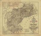 Mapa de la provincia de Tarragona / por el alférez de la Guardia Civil Lorenzo Matas y Durán, autografiada por el mismo en 1887