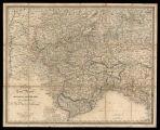 Nuova carta postale del Passaggio delle Alpi : e degli stati di terraferma S. M. il Re di Sardegna