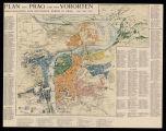 Plan von Prag und den Vororten : Herausgegeben vom deutschen verein in Prag