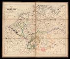 Mapa del teatro de guerra entre Francia y Prusia en el año 1870