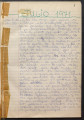 [Biblioteca Popular Juvenil de la Santa Cruz] : diario IV : desde 1º  julio 1971-hasta setembre 1975