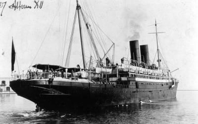 Vapor ALFONSO XII 3, de la Cia Trasatlantica