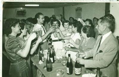 Esperança Caballé - Fotografia celebració 25 anys fàbrica tèxtil Can Saladrigas - interior fàbrica