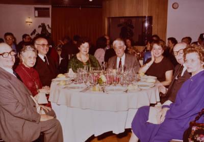 Sopar en homenatge a Maria Canals i amb motiu de la celebració del XXV aniversari del Concurs